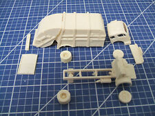 """1/87 """"HO"""" SCALE RESIN KIT- WHITE 3000 LEACH PACKMASTER GARBAGE TRUCK"""