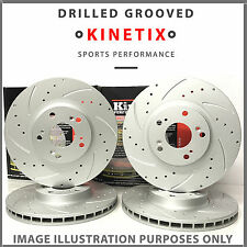 K473 For Toyota Celica ZZT23_ 1.8 16V VT-i 99-05 Front Rear Drilled Brake Discs