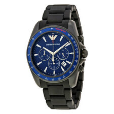 Emporio Armani Blue Dial Chronograph Mens Watch AR6121