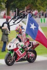 COLIN EDWARDS HAND SIGNED CASTROL HONDA 6X4 PHOTO.