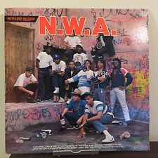 Panic Zone by NWA 1987 Vinyl Ruthless Records 1st Press Dr Dre Eazy-E