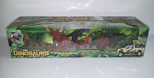 Dinosaurs Play Set - Prehistorical Creatures Come Alive! - 10 In Total *GREAT*
