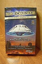 ATLANTIS MODELS U.F.O. ENCOUNTERS (Sighting over Monument Valley) MODEL KIT