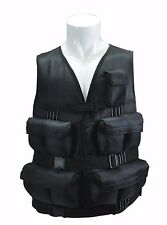 40 LBS Adjustable Weight Vest - Iron Ore Weights Included! Exercise Fitness