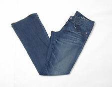 P501/38 Gap Stretch Women's Washed Blue Bootcut Jeans, size W28 L32