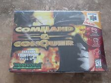 BRAND NEW Command & Conquer Nintendo 64 N64 Factory Sealed!