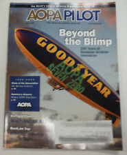 Aopa Pilot Magazine Beyond The Blimp & Was Nascar At Fault May 2009 013015R