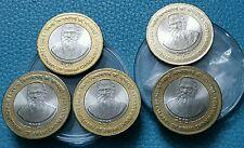 RS 10 - 2015 Mumbai MINT - SWAMI CHINMAYANANDA - 5 COINS