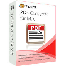 PDF Converter MAC Tipard dt.Vollversion 1 Jahr - Lizenz ESD Download
