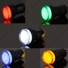 5×22mm AC220V Mixed 5 Color Red Green Blue Yellow White LED Indicator Light