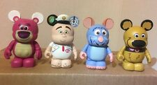 "DISNEY VINYLMATION 3"" PIXAR SERIES 1 Lot DUG UP DOG Wall-E Remy 2012 PARK HTF"