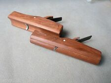 2pcs Mujingfang Rosewood plane (  Round planes and Hollow plane),Cut width 6mm