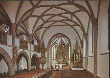 Alte Postkarte - St. Oswald bei Freistadt-Spätgotischer Innenraum d. Pfarrkirche
