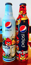 2 PEPSI ANGRY BIRDS LIMITED EDITION ALLUMINIUM BOTTLES EXCLUSIVE FROM MEXICO