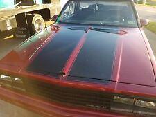 """G Body Chevrolet El Camino (1978 - 1987)  """"SS"""" Stripe Kit Hood/Tailgate"""
