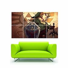 """s2272 The Legend of Zelda Art Video Game HUGE Wall POSTER 32x57"""" Print On Canvas"""