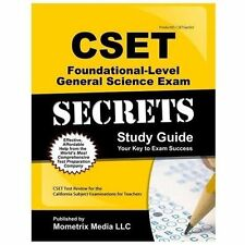 CSET Foundational-Level General Science Exam Secrets Study Guide : CSET Test...