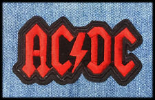 Ecusson patch ACDC thermocollant (Aufnäher toppa parche rock band ac-dc iron-on)