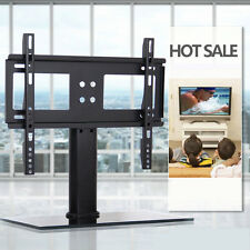 """Universal Bracket TV Stand Replacement Tabletop TV Base Stand Mount F 37-55"""" TVs"""