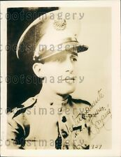 1939 Major Jaime Marine of Cuba  Press Photo