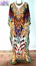 KAFTAN Very  EMBELLISHED long silk crepe 16/22 very exotic clear out sale