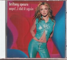 britney spears oops! i did it again cd limited edition