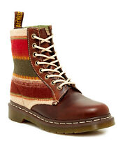 DR. MARTENS Pendleton Brown Santa Fe Stripes Boots Women's US 5 EU 36 UK 3 NIB