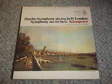 Haydn Symphony No. 104 in D (London) Symphony No. 88 in G Klemperer Angel Stereo
