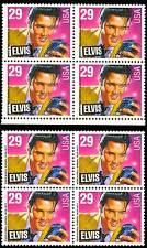 2721 Var ELVIS PRESLEY MAJOR COLOR SHIFT ERROR BLOCK