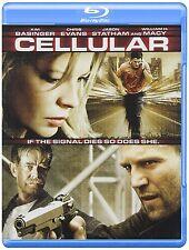 CELLULAR (Kim Basinger, Jason Statham) -  Blu Ray - Sealed Region free for UK
