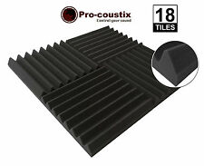 Genuine Pro-coustix  Ultraflex Wedge High Quality Acoustic foam tiles 18 panels