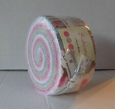 Moda Sakura Jelly Roll, 40 2.5x44-inch Cotton Fabric Strips