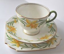 Antique/Vintage Aynsley Trio Tea Cup and Saucer Yellow Daffodils