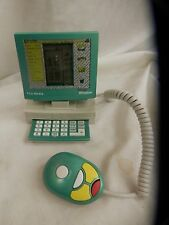 Vintage NOS NEW alarm clock calculator game trio media computer shape GR333 COOL