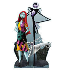 Lifesize Jack Skellington Sally Zero Halloween Cardboard Standup Decoration New