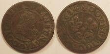 Louis XIII, Double tournois 1634 D Lyon !!