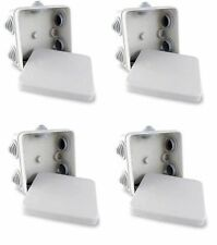 4x Junction Box IP55 Rated Weatherproof for CCTV