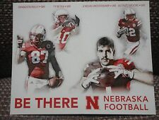 Alonzo Moore Westerkamp Reilly Nebraska Receivers 2016 Husker Schedule Card