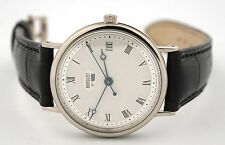 BREGUET CLASSIQUE AUTOMATIC 18K White GOLD MENS Watch 5910BB/15/984