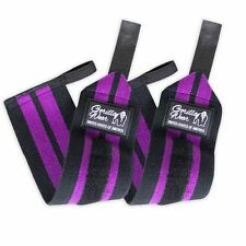 Gorilla Wear Women's Wrist Wraps Black/Purple