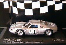 PORSCHE 904 GTS #50 CONTINENTAL CUP DAYTONA 1964 CASSEL PABST MINICHAMPS 4006465