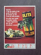 F690- Advertising Pubblicità - 1965 - OLITA , OLIO DI SEMI