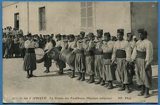 CPA MAROC: Armée d'AFRIQUE - La Nouba des Tirailleurs (Musique indigène)