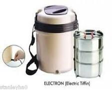 Electric Tiffin - Revolutionary Design 3 Containers Must For Holiday,Caravan etc
