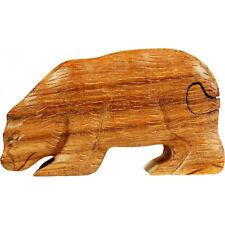 Holz-Trickbox/Trickkiste Bär