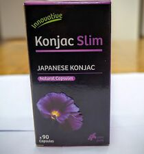 GLUCOMANNAN KONJAC FIBRE PILLS 600MG NATURAL DIET WEIGHT LOSS SUPPRESS APPETITE