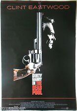 CLINT EASTWOOD Dirty Harry In The Dead Pool Rare Vintage Large Colour POSTER