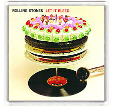 ROLLING STONES - LET IT BLEED LP COVER FRIDGE MAGNET IMAN NEVERA