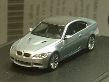 Herpa BMW M3 Coupe, eisblau-silber, dealer model - 609 - 1/87
