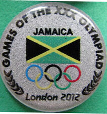 LONDON '12 Olympic JAMAICA NOC Internal team - delegation pin